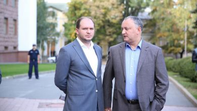 Photo of video | Ion Ceban pleacă din nou în concediu pentru a lucra la campania electorală a lui Igor Dodon