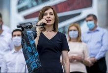 Photo of Prima reacție a Maiei Sandu după afișarea primelor rezultate: Alegerile au arătat că oamenii cred în democrație