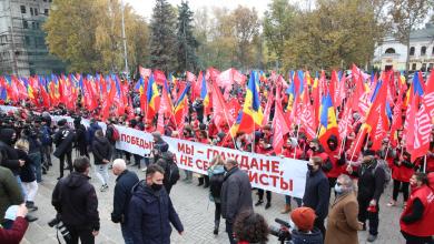 Photo of video | PSRM desfășoară mitinguri în susținerea lui Igor Dodon în Chișinău și în mai multe centre raionale