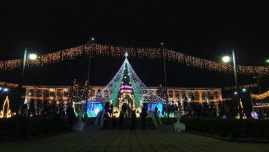 Photo of foto | Atmosferă de sărbătoare în centrul capitalei. Cum arată bradul de Crăciun din acest an