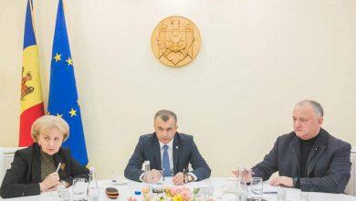 Photo of video | Declarațiile lui Ion Chicu după ședința săptămânală cu Igor Dodon și Zinaida Greceanîi