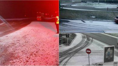 Photo of foto | La nordul țării s-a așternut prima zăpadă. Drumarii împrăștie antiderapant, iar Poliția îndeamnă șoferii să fie prudenți