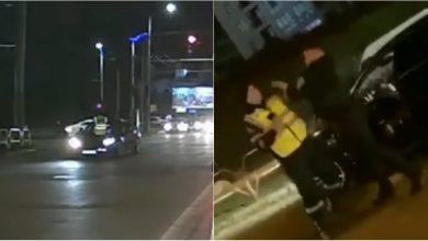 Photo of video | Șoferul din Maserati, care a agresat un ofițer, riscă doi ani de pușcărie. Precizările Poliție despre altercația din centrul capitalei