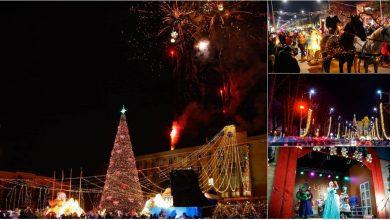 Photo of foto | Povestea de Crăciun a început la Orhei cu un concert. Organizatorii anunță că au respectat măsurile epidemiologice