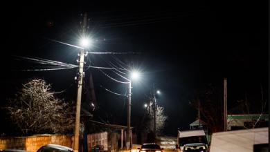 Photo of foto | Proiectul iluminatului stradal încă într-un sat, finalizat de Partidul Șor
