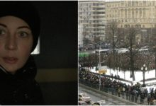 Photo of foto, live | Protestele de la Moscova: Soția lui Navalnîi a fost arestată