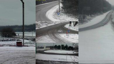 Photo of foto | Cât Chișinăul este încălzit de soare, traseele de la nordul țării au fost cuprinse de zăpada. Șoferii, atenționați că s-a format lunecuș