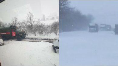 Photo of foto | Două autocare cu moldoveni, blocate în Ucraina din cauza drumurilor înzăpezite. Reacția Ministerului de Externe