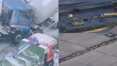 Photo of video | Așa arată un accident cu 130 de mașini. Peste 200 de persoane – implicate, iar cel puțin 12 au ajuns la spital