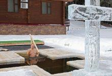 Photo of video | De Bobotează pe rit vechi, Putin s-a scăldat în fața unei cruci de gheață