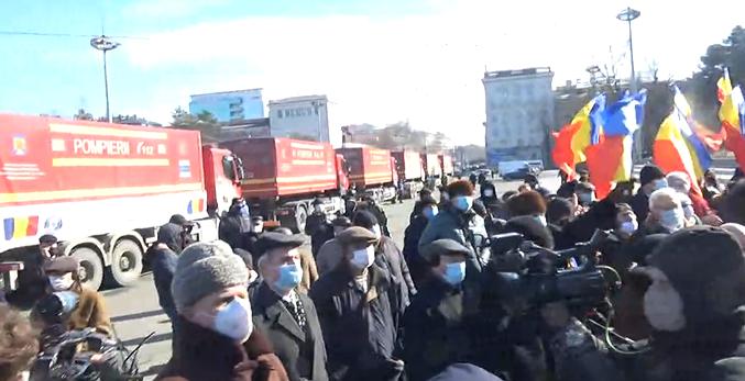 """Photo of video   A fost recepționat lotul de ajutor umanitar românesc. """"Considerăm Republica Moldova o prioritate absolută"""""""