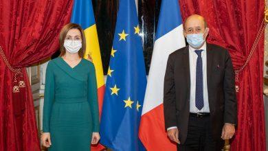 """Photo of Maia Sandu a ajuns la Paris. """"Ne vom bucura de susținerea Franței în acest demers"""""""