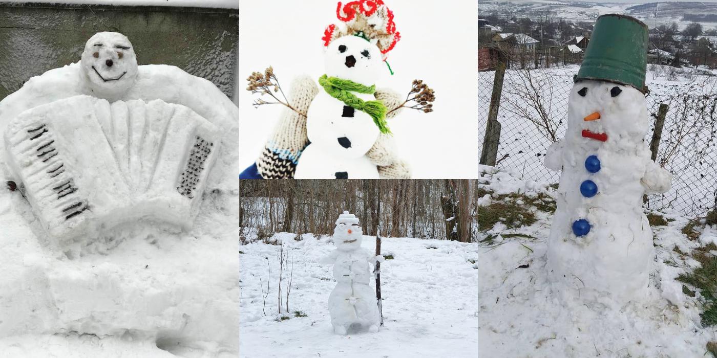 Photo of foto, video | Să îi admirăm cât mai avem posibilitatea! Oamenii de zăpadă au împânzit Moldova și au ajuns pe rețelele de socializare