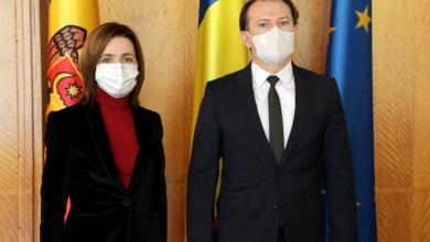 Photo of În drum spre Paris, Maia Sandu s-a oprit la București, unde a discutat cu premierul României. Subiectul principal – vaccinul anti-COVID