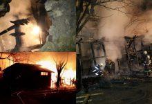 Photo of foto, video | O fabrică din Bălți, cât pe ce să fie cuprinsă de flăcări. Focul a mistuit o construcție din preajmă