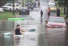 """Photo of video   """"Ploi cum vezi o dată la 200 de ani"""". Orașe întregi din Australia, scufundate în urma inundațiilor"""