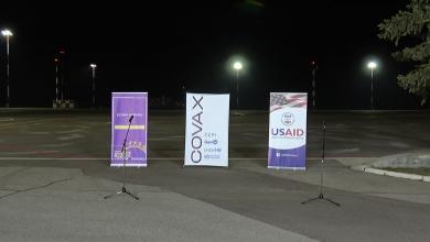 Photo of live | Primul lot de vaccinuri anti-COVID-19, transmis prin COVAX, a ajuns pe Aeroportul din Chișinău