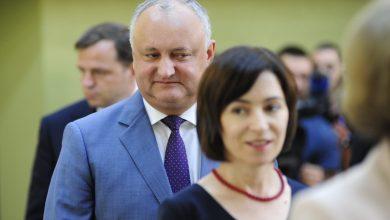 """Photo of Dodon și Sandu au avut discuții între patru ochi în timpul consultărilor de la Președinție. """"Dar care e problema, că domnul Slusari nu era"""""""