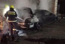 Photo of Un BMW, distrus de flăcări la sudul țării. Arderea s-a produs noaptea