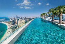 Photo of foto | Cum arată cea mai înaltă piscină din lume. Este în Dubai și are o priveliște uimitoare la 294 de metri înălțime