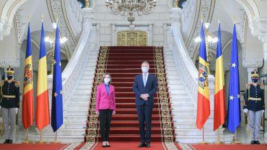 Photo of Maia Sandu și Klaus Iohannis au avut o întrevedere la Cotroceni. Despre ce au discutat cei doi președinți