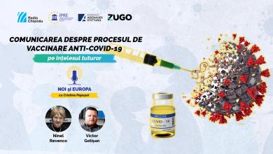 "Photo of podcast ""Noi și Europa"" | Comunicarea despre procesul de vaccinare anti-COVID-19 în Republica Moldova"