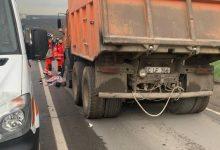 Photo of foto | Impact fatal în Chișinău: Un copil a fost proiectat sub roțile unui camion în timp ce traversa strada