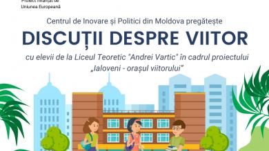 Photo of Ialoveni, oraș al viitorului? Un proiect de implicare comunitară și de promovare a energiei regenerabile, implementat de Centrul de Inovare și Politici