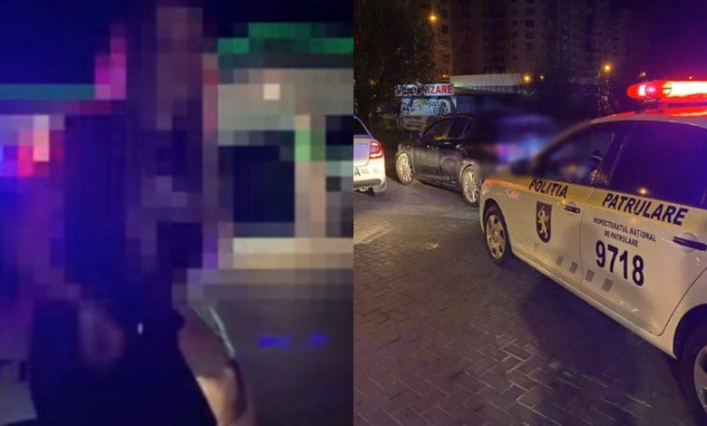 Photo of video | A accidentat două mașini de patrulare și le-a vorbit polițiștilor despre respect. Isprava unei tinere, care a urcat la volan după de a consumat alcool