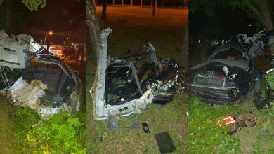 Photo of Un bărbat se află în comă după un accident violent la Ciocana. Mașina a devenit morman de fiare