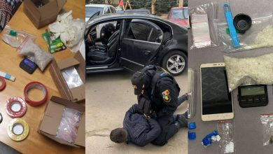 Photo of Cinci presupuși vânzători de droguri, reținuți după 14 percheziții. Ar fi încasat zilnic peste 10.000 de lei