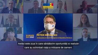 Photo of video | #ÎmpreunăMaiPuternici. Mesajele ambasadorilor UE și a statelor membre cu ocazia Zilei Europei
