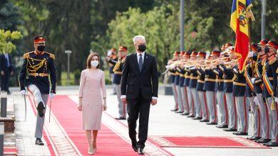 Photo of video | Președintele Lituaniei, în vizită la Chișinău. Ce a discutat cu Maia Sandu și câte doze de vaccin ne vor dona lituanienii