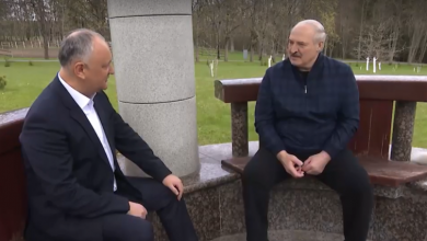 Photo of video | Dodon îl laudă pe Lukașenko pentru reprimarea protestelor din Belarus: Ați dat un exemplu