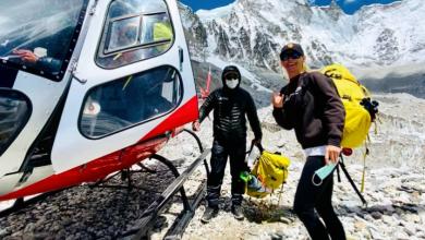 Photo of Olga Țapordei a devenit prima femeie din R. Moldova care a urcat pe vârful Everest, cel mai înalt din lume