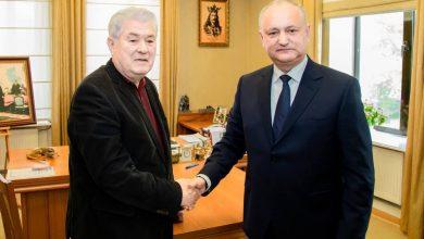 """Photo of Voronin și Dodon au semnat acordul de creare a blocului electoral PSRM-PCRM: """"Să fie cu Doamne ajută!"""""""