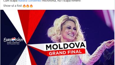 Photo of A scăpat sau nu microfonul? Primele impresii și comentarii ale moldovenilor pe Facebook, după prestația Nataliei Gordienko la Eurovision