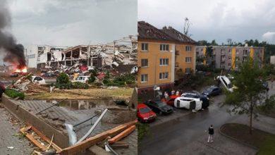 Photo of foto, video | Sute de case distruse și cel puțin 150 de răniți. O tornadă devastatoare a făcut prăpăd în Cehia