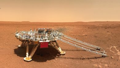 Photo of video   China a publicat noi imagini de pe Marte, surprinse de roverul Zhurong