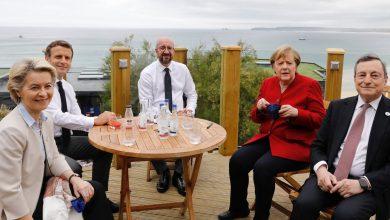 Photo of Premieră după relaxarea restricțiilor anti-COVID: Cei cinci lideri europeni, la aceeași masă, în cadrul G7