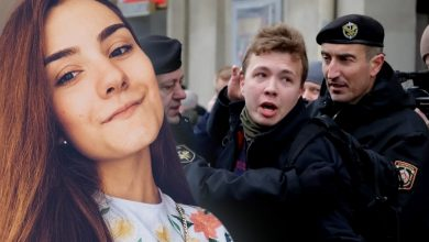 """Photo of Jurnalistul Roman Protasevici și iubita sa au fost transferați în arest la domiciliu: """"Nimeni nu a renunțat la acuzații"""""""