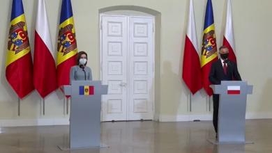 Photo of video   Maia Sandu, vizită oficială în Polonia. Ce a declarat la conferința de presă cu președintele polonez, Andrzej Duda