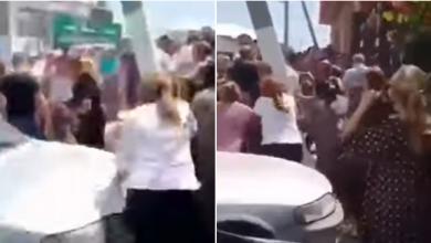 Photo of video | Bătaie cu pumni, pietre și spray lacrimogen la Otaci. Au intervenit trupele speciale din capitală