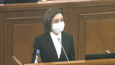 """Photo of live   Sandu, la tribuna Legislativului: """"Parlamentarii trebuie să fie exemplu de comportament"""""""