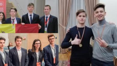Photo of foto | La doar 17 ani au în palmares zeci de medalii și diplome. Cunoaște-i pe Valerian și Marius, elevii olimpici care duc faima internațională R. Moldova