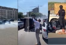 Photo of video | Petrecere cu împușcături în mijlocul străzii și drifturi: Nunta a fost întreruptă de mascați, iar musafirii riscă șapte ani de pușcărie