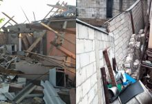 Photo of foto | Explozie devastatoare în raionul Nisporeni: Un bărbat, scos de sub casa dărâmată cu arsuri pe 80% din suprafața corpului