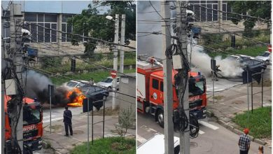 Photo of update, foto   Chișinău: Două mașini, cuprinse de flăcări. Precizările IGSU
