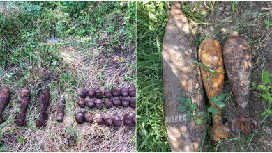 Photo of foto | Cimișlia: Au fost găsite peste 30 de obiecte explozibile din perioada celui de-al Doilea Război Mondial