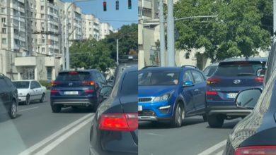 Photo of video | Graba i-a adus… amendă. Sancțiunea aplicată unei șoferițe care a ieșit pe contrasens chiar în fața camerei